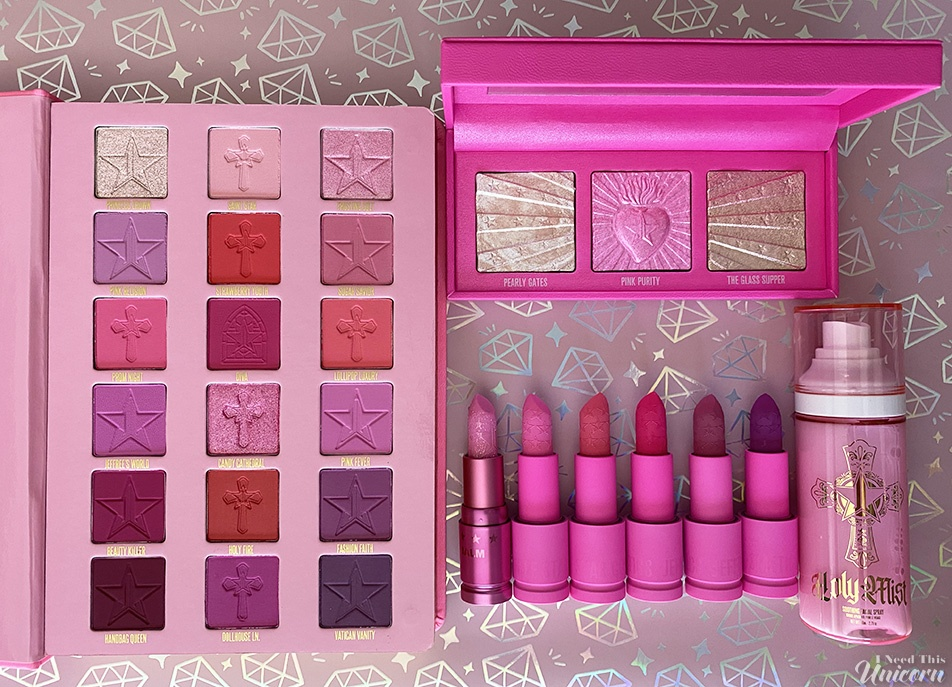 Jeffree Star Cosmetics Pink Religion Collection